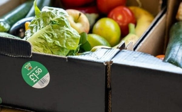 The Too Good to Waste boxes first hit Lidl's shelves in August 2018