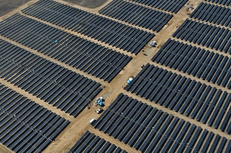 China solar investments