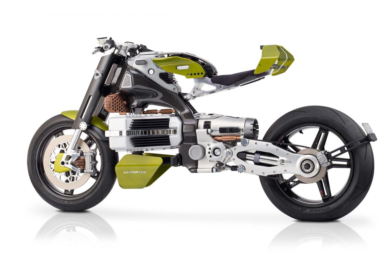 BST HyperTEK electric motorcycle