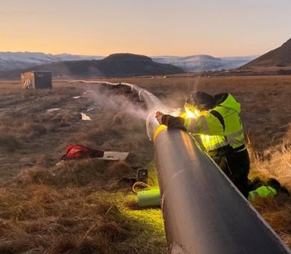 Construction Begun on Geothermal District Heating Pipeline in Iceland